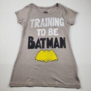 Training to be Batman Junior's Graphic Tee Sz M